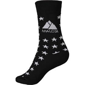Maloja MairaM. Chaussettes de sport, moonless